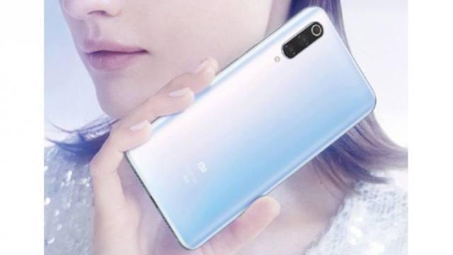 ยลภาพโปรโมททางการของ Xiaomi Mi 9 Pro 5G ในเครื่องสีขาว