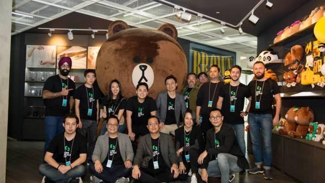 LINE ScaleUp นำสตาร์ทอัพไทยร่วมทริปบ่มเพาะความรู้ในต่างแดน
