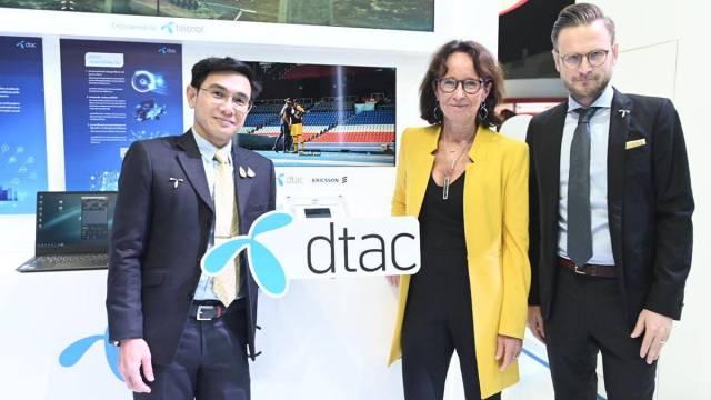 dtac ชูการเชื่อมต่อสู่อนาคต ในงาน Digital Thailand Big Bang 2019