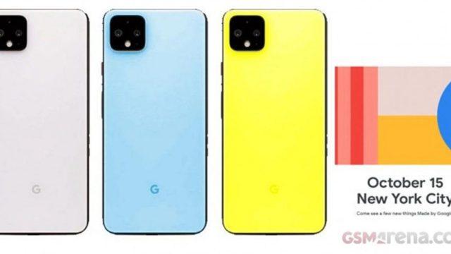ยลโฉม Pixel 4 สี Slightly Green, Maybe Pink, Sky Blue และ Really Yellow