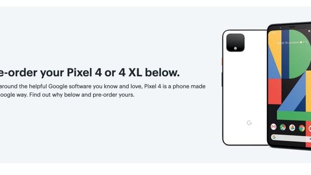 พบข้อมูลพรีออเดอร์ Google Pixel 4 / 4 XL โผล่บนเว็บ Best Buy แคนาดา