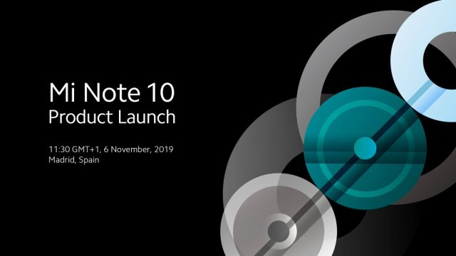 Xiaomi Mi Note 10 พร้อมเปิดตัวที่มาดริด สเปน 6 พ.ย. นี้