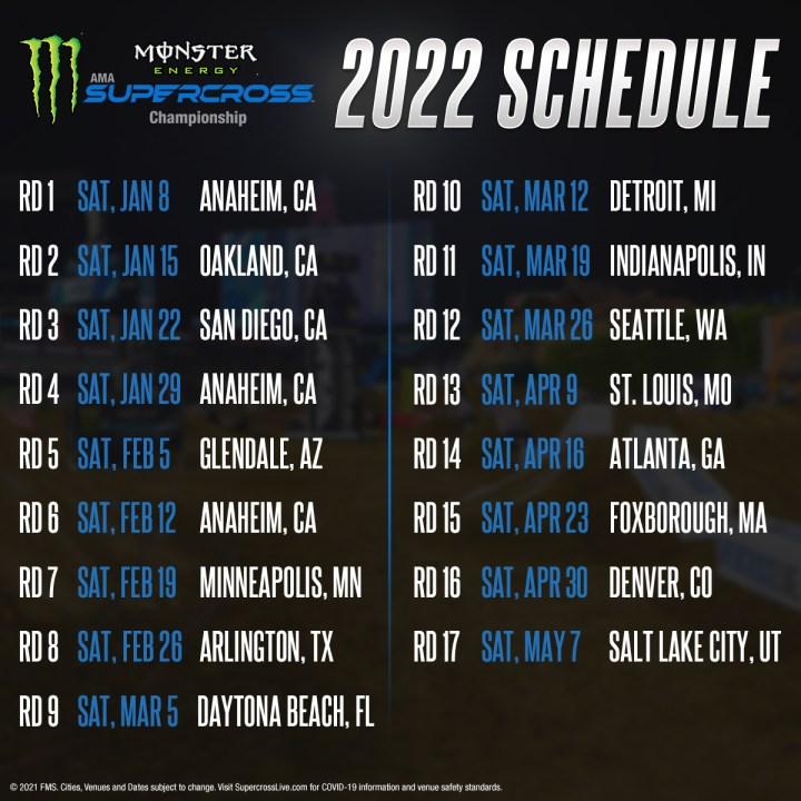 calendario sx 2022
