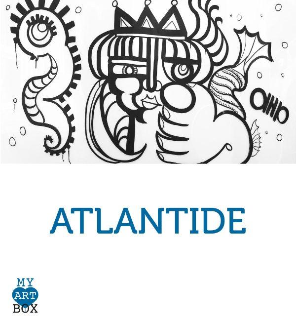Modèle d'inspiration ATLANTIDE créé par aNa