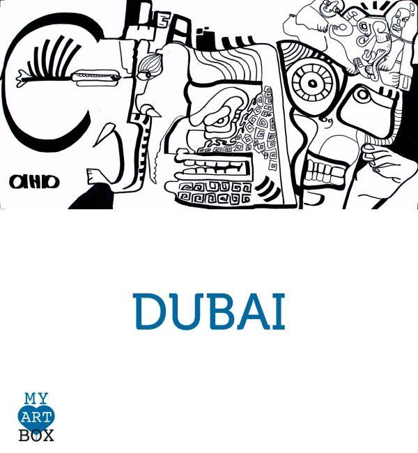 Modèle d'inspiration DUBAI créé par aNa