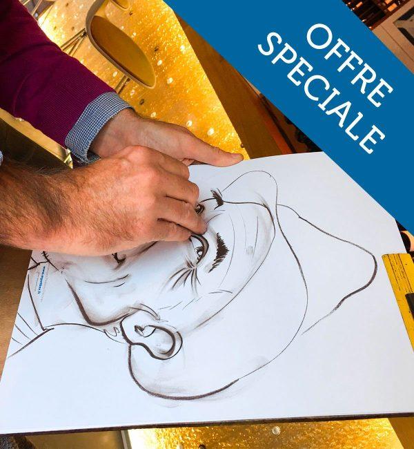 OFFRE SPECIALE Close Up : Découvrez notre offre Close Up : silhouette + caricature dans la même soirée ! Un donne occasion pour exploiter la notion de portrait sous tous ses angles