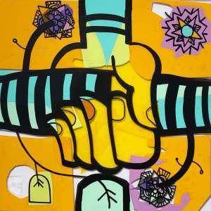 visuel symbole de télétravail issu du protocole créatif my art box fresque animation télétravail