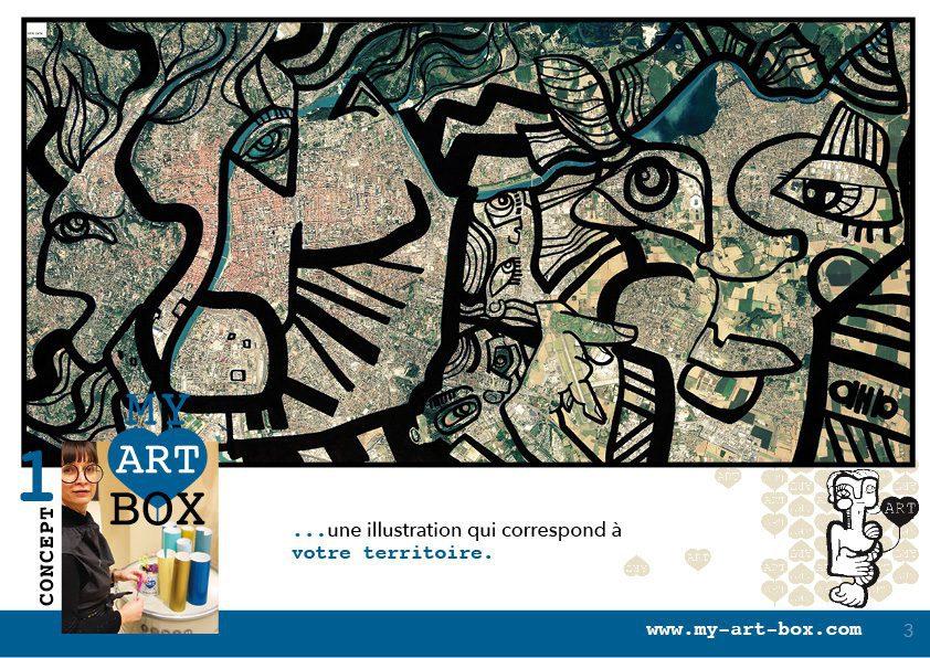 art box œuvre commune de lyon outil pour développer les bienfaits de l'activité créative sur la productivité au travail.