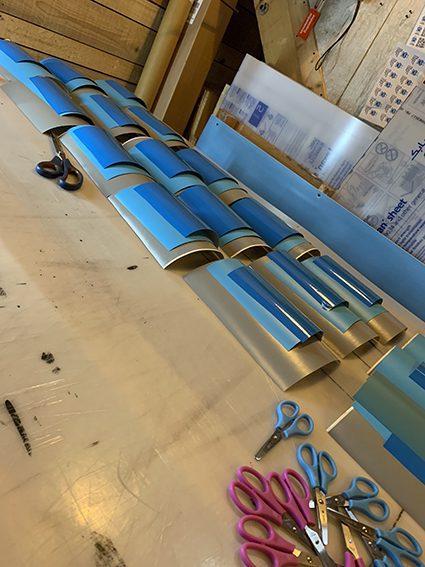 matériel de team building fresque