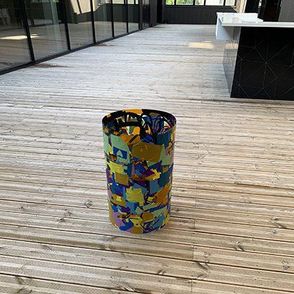 Totem Plexi Lyon par my art box et ana artiste