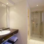 Salle de bain de l'hotel