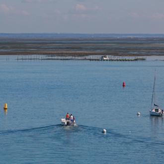 Navigation sur le Bassin d'Arcachon depuis le Cap Ferret