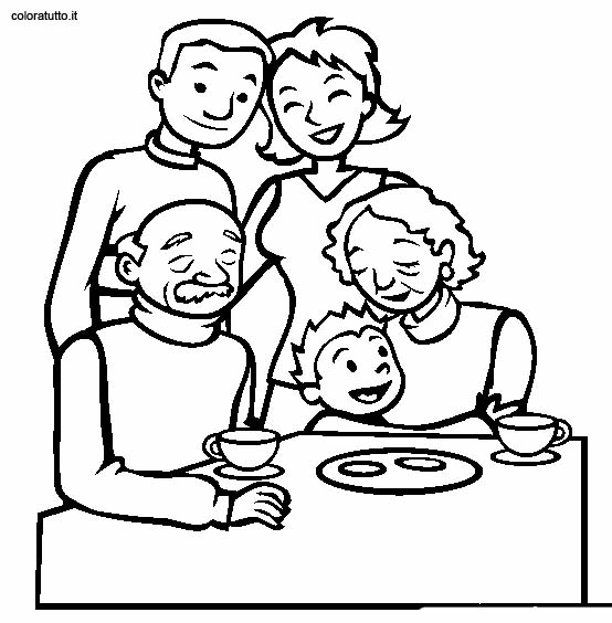 coloring pages family picture 92
