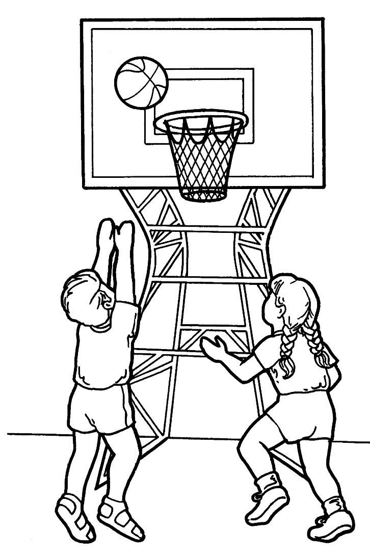 Coloring Pages Sports Picture 1