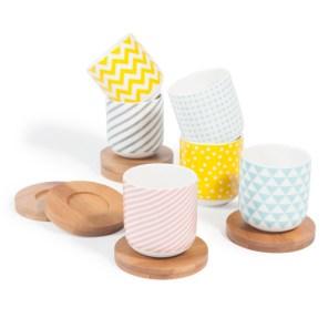 Des mini tasses colorées chez Maisons du Monde