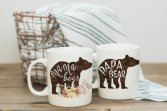 mama bear papa bear mug