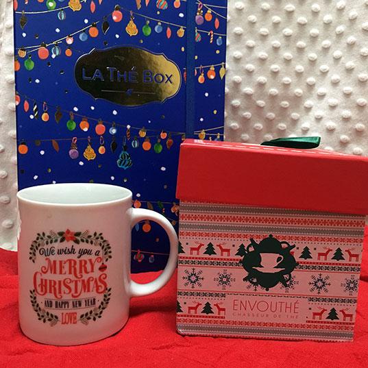 Les box de thé fêtent Noël