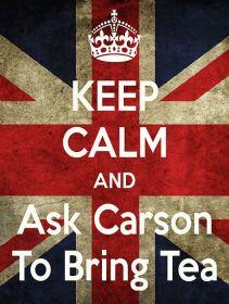 keep calm carson