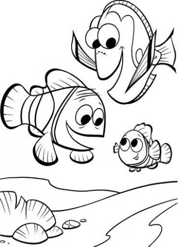 my family fun finding nemo and friends coloring pages ocellaris