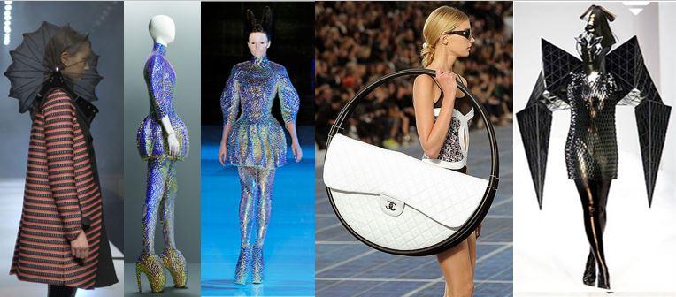 Art influenced designs in fashion