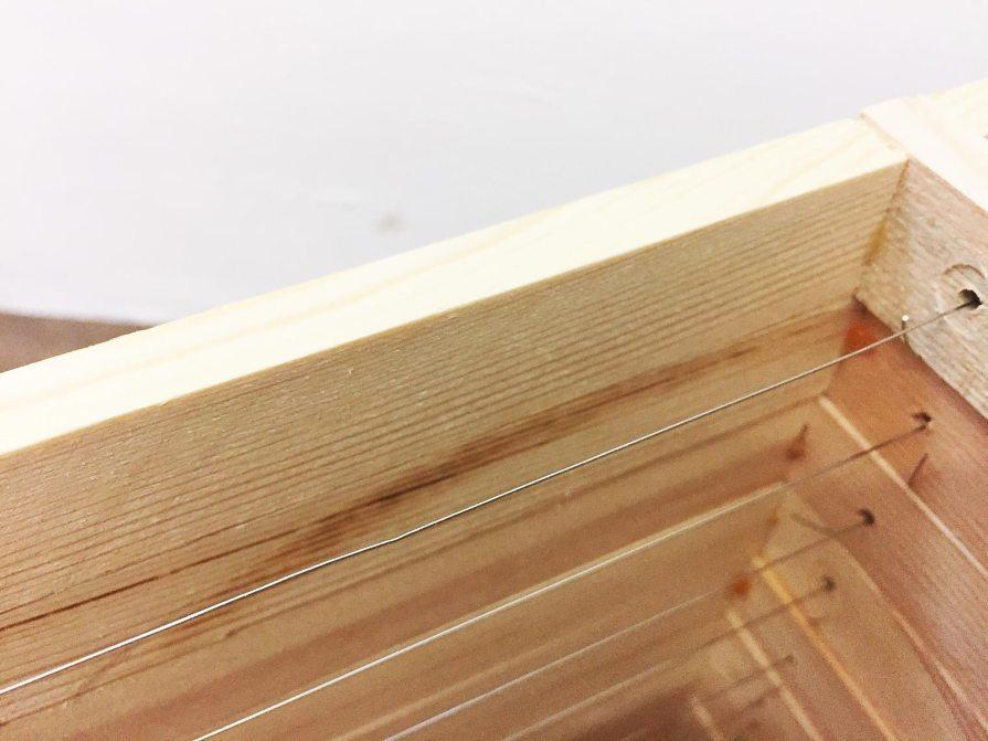 Spaarkast honingkamerramen gemonteerd Z.Z. (B) - per 10