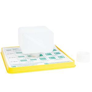 Liebig dispenser voor het verdampen van Mierenzuur tegen de varromijt. Nieuw laag model voor 200 ml die makkelijker in een lege honingkamer geplaatst kan worden.