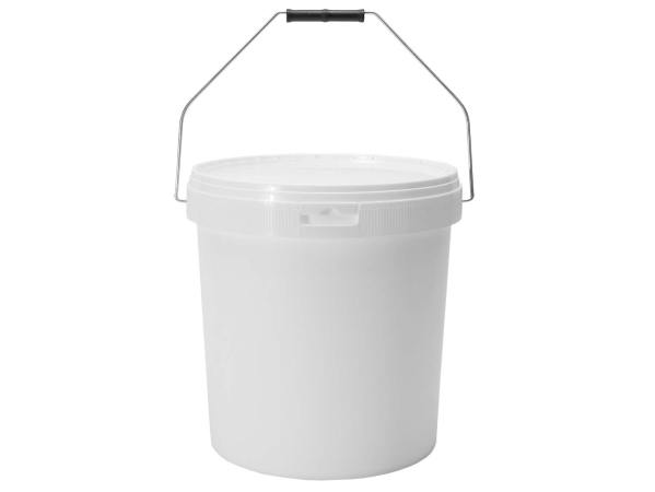 Honingemmer wit met deksel – 20 KG