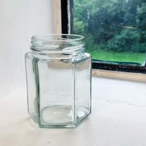 Honingpot Hexa 196 ml / 250 gram Toc 58 met deksel – 25 stuks