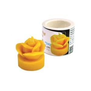 Lyson kaarsen gietvorm - theelichtje roos [FS40]