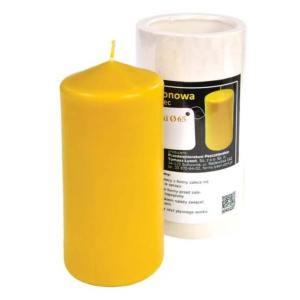 Lyson kaarsen gietvorm - Ronde kaars - Ø 65 - hoogte 13.5 cm [FS54] Hoogte: 13,5 cm. Diameter: 65 mm. Aanbevolen lont: 3 Benodigde was per kaars: 375 gram