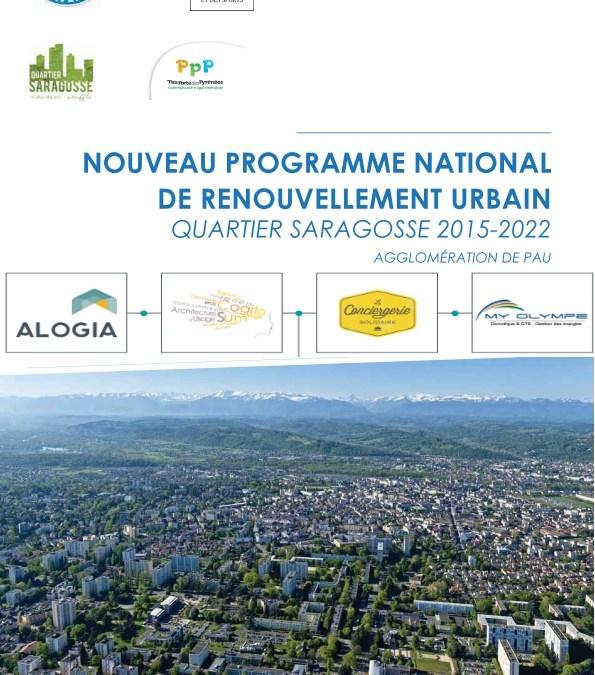 Etude sur le quartier SARAGOSSE à PAU – Investissement d'Avenir (ANRU)