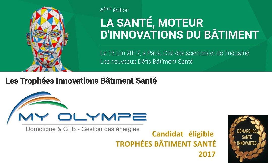 Finaliste TROPHÉES BÂTIMENT SANTÉ 2017 !