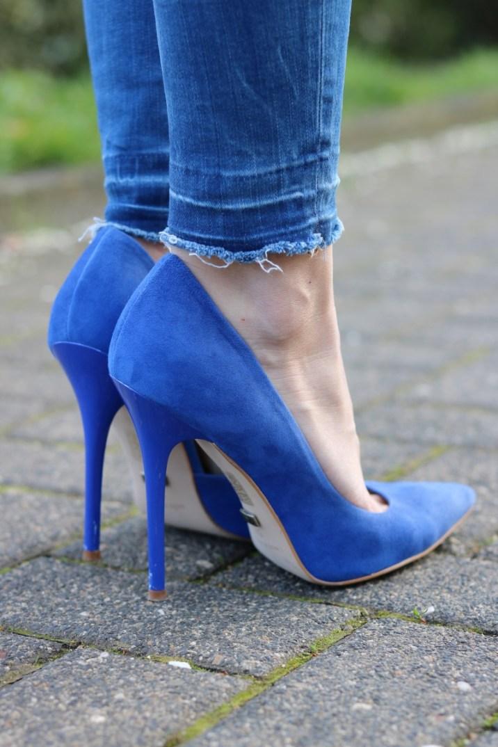 High Heels, Cobalt, Kobalt, Blue, Blau