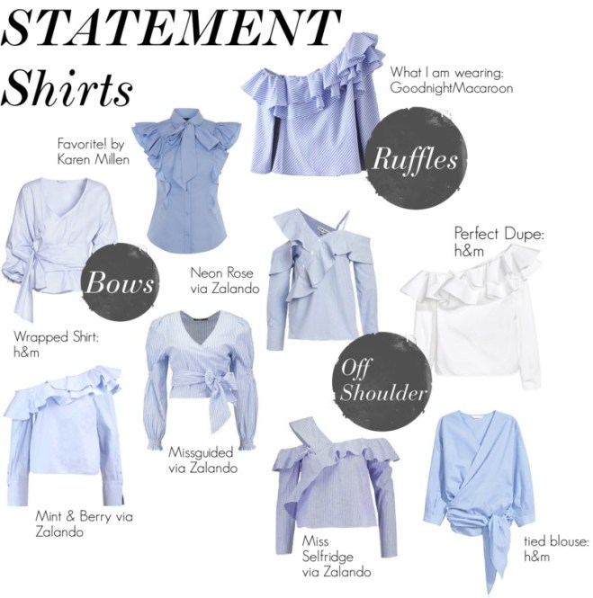 Statement Shirts Collage