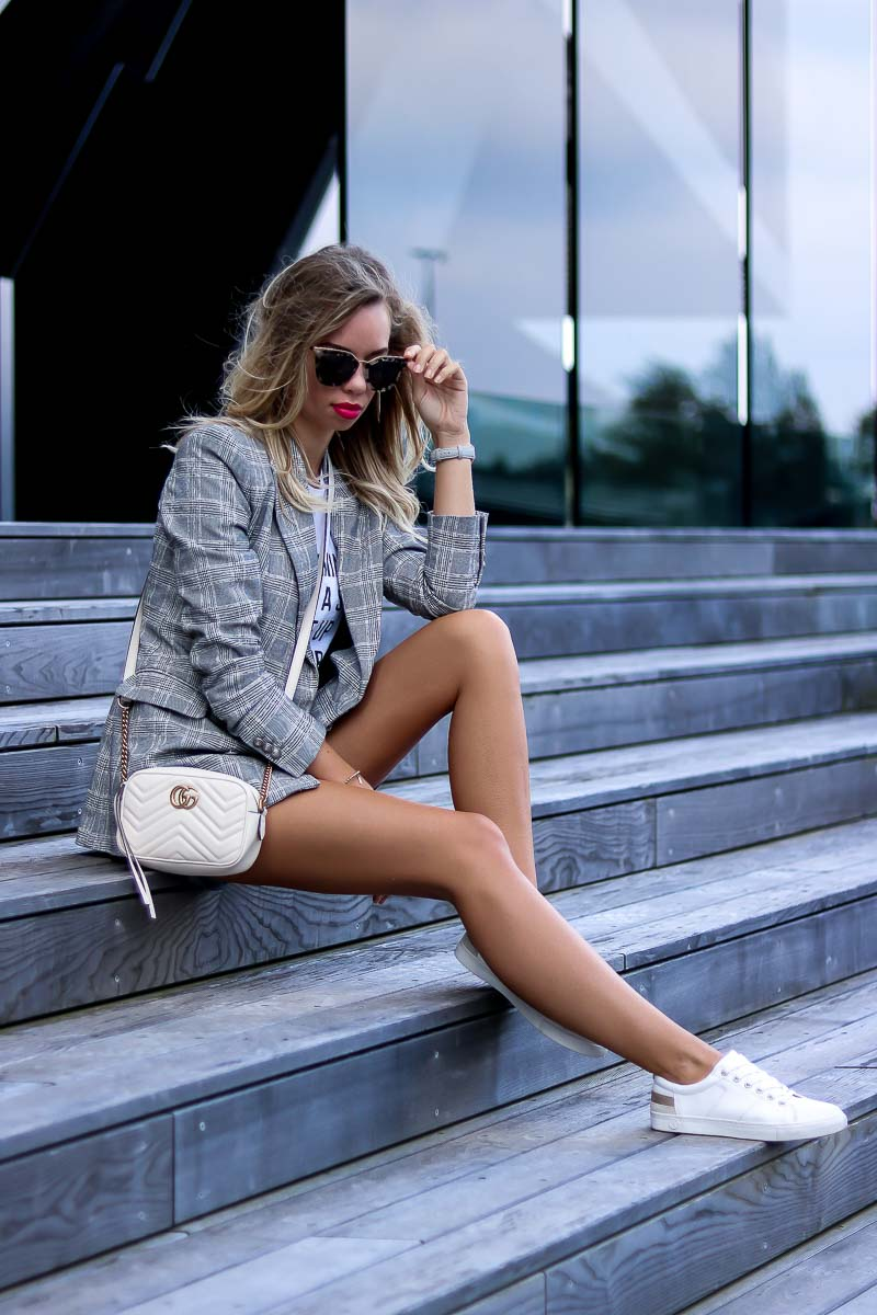 Casual Summer Outfit with Gucci Marmont bag