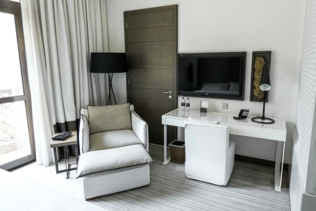 Vida Downtown Dubai sitting area guest room