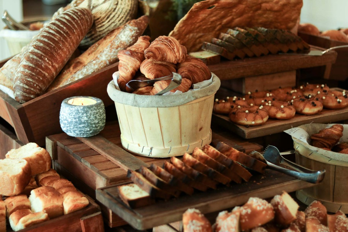 Vida Downtown Dubai pastries breakfast