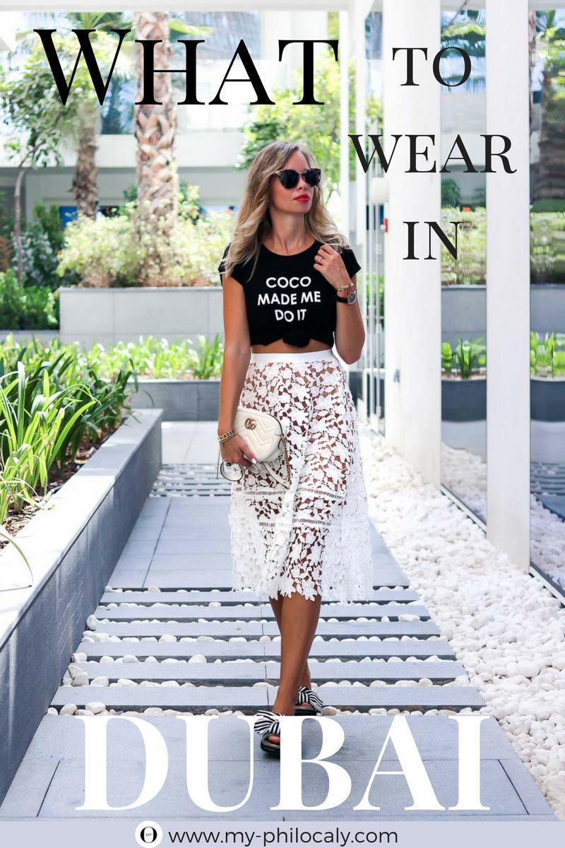 What to wear in Dubai - Dubai Dresscode