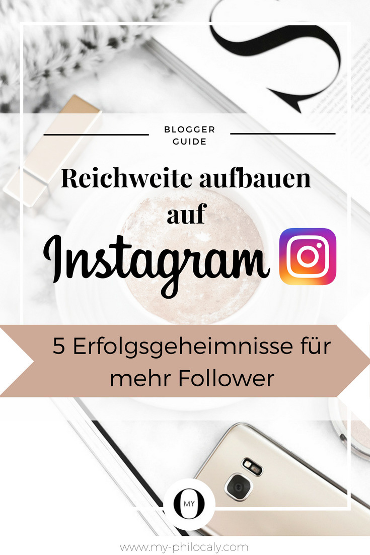 Pin: Mehr Follower auf Instagram bekommen