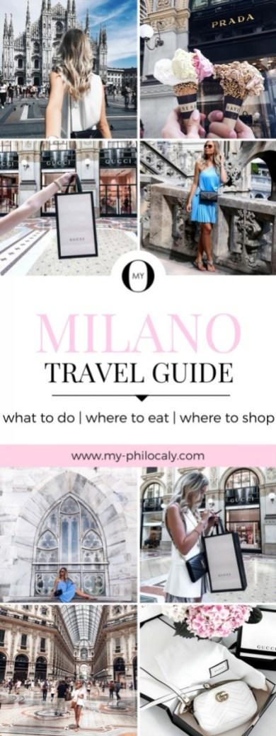 Milano Travel Guide Pin