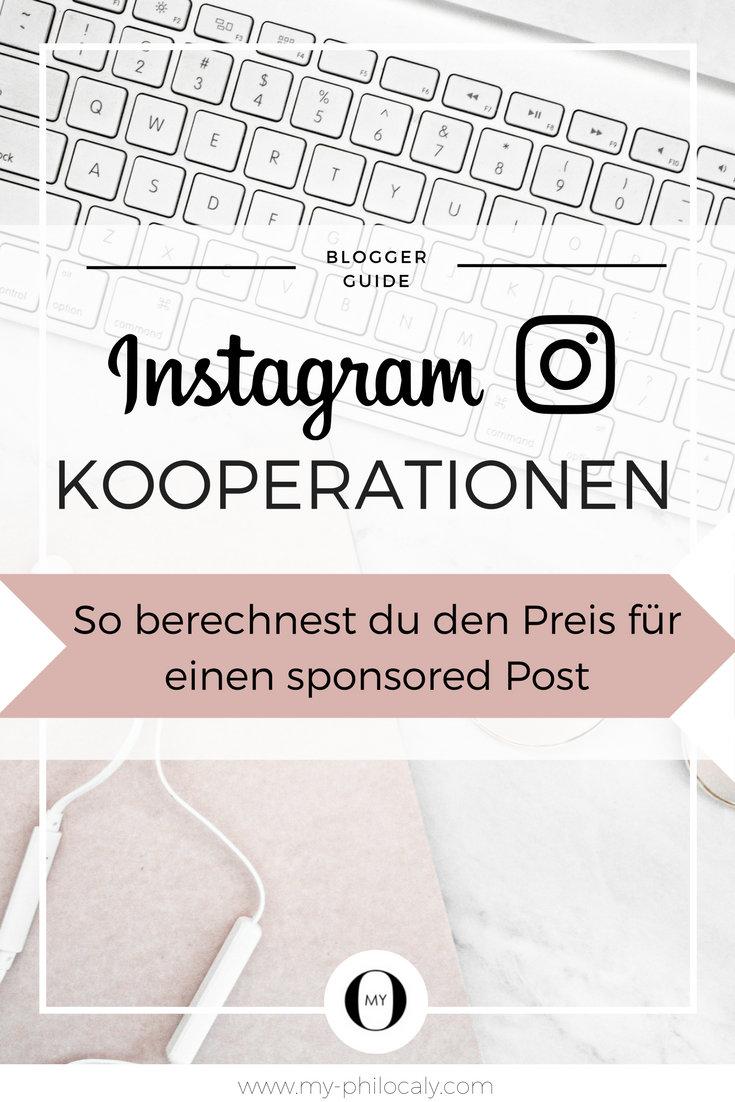Instagram Kooperationen