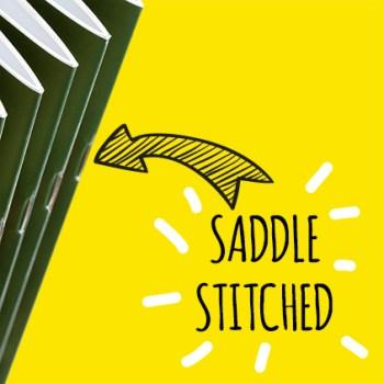 Saddle Stitched