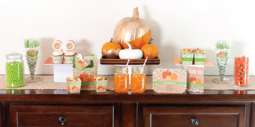 Baby Hands Feet Pumpkin Super Cute Shower Idea The Best