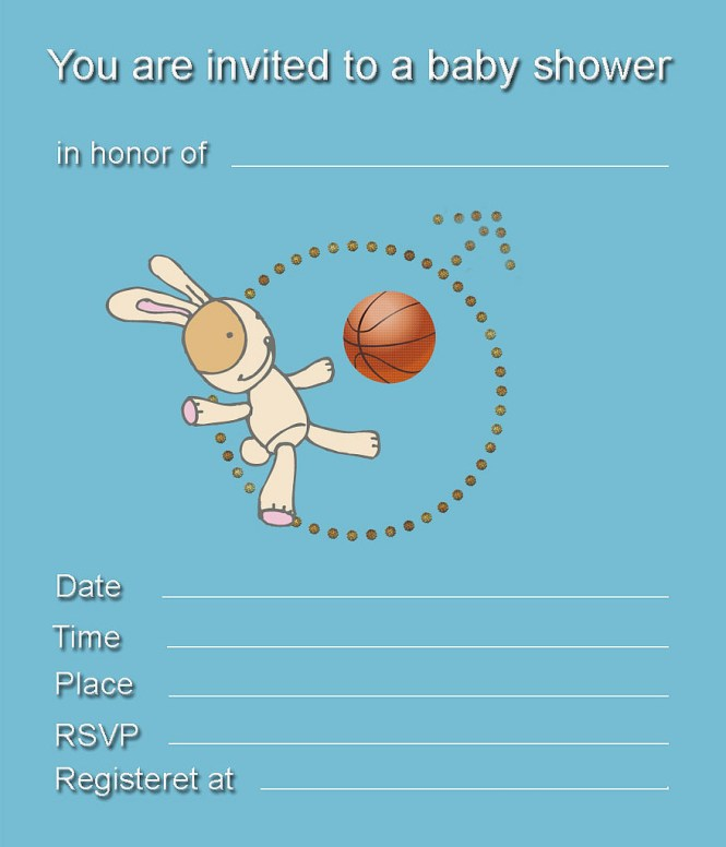 Free Printable Boy Baby Shower Invitations My Practical
