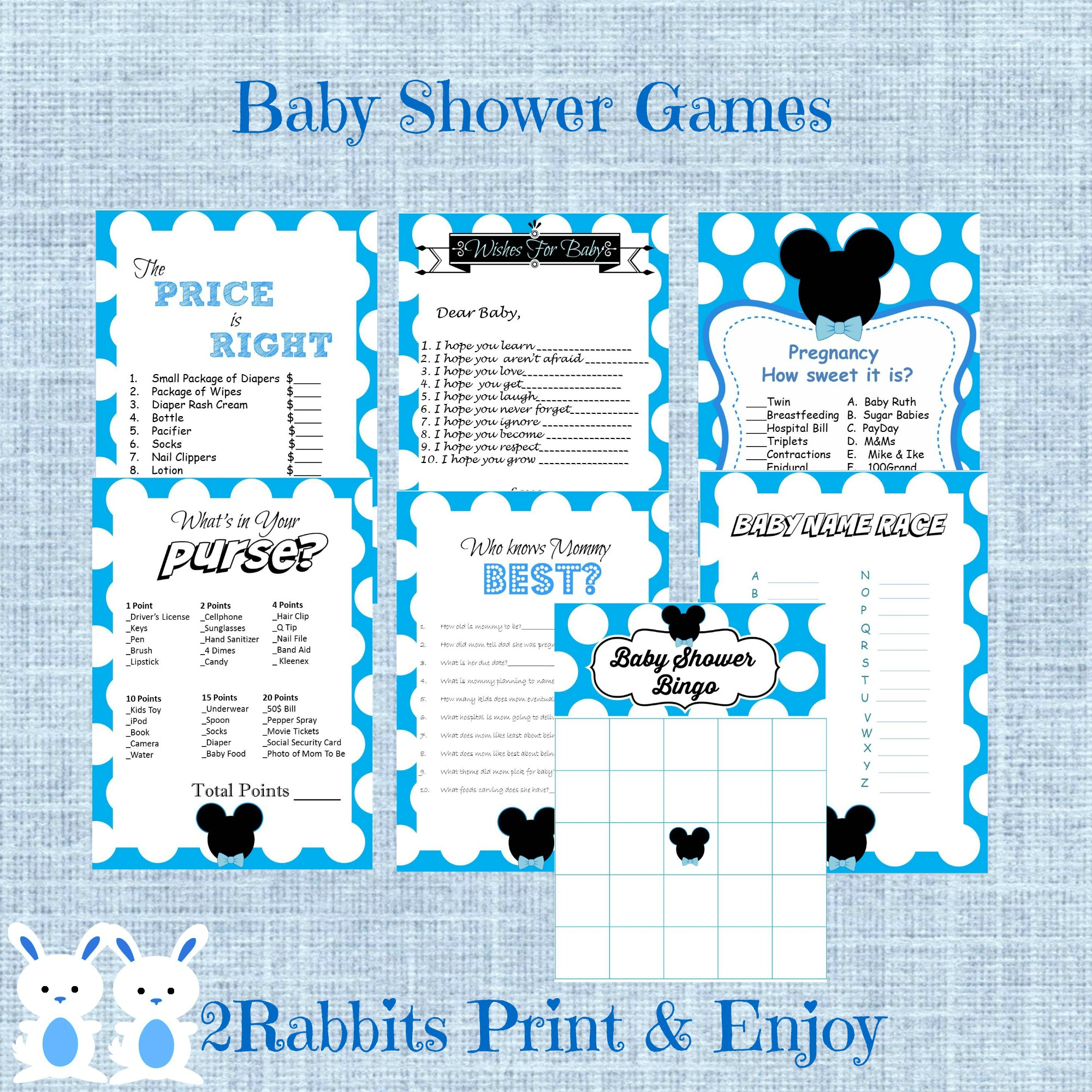 Mickey Mouse Babyshower Ideas