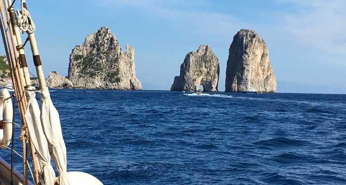 History and Beauty of Capri Island