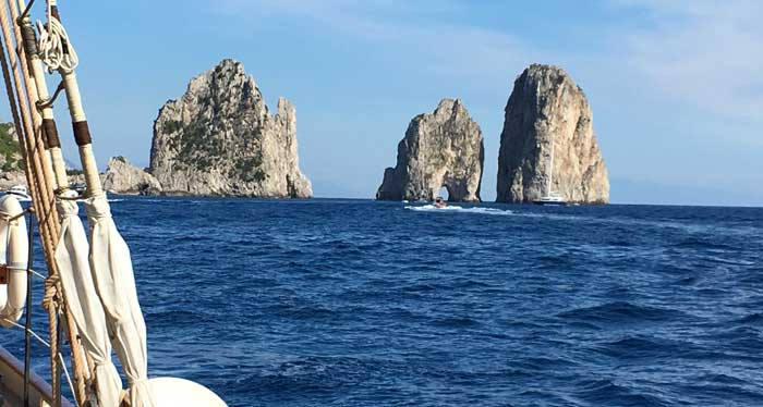 History and Beauty of Capri Island