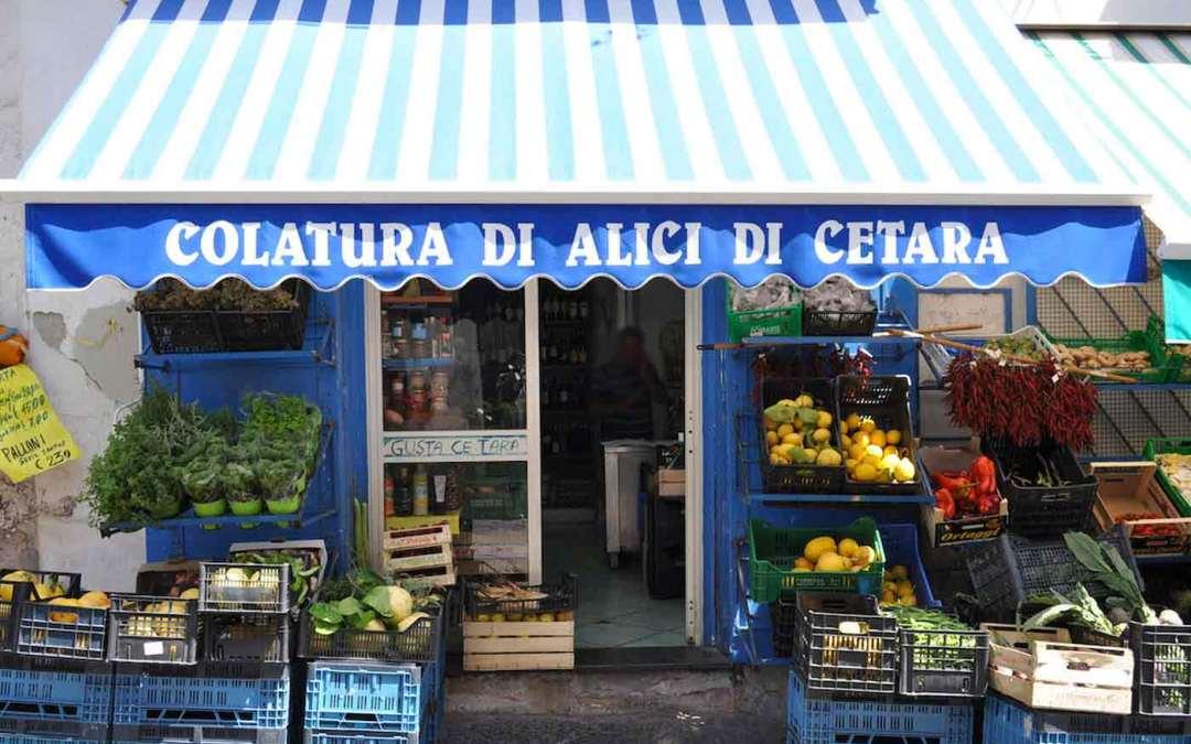 Amalfi Coast – Cetara ad the Good Food