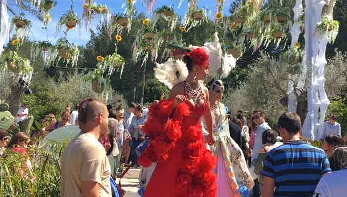 fiesta de la primavera Ibiza