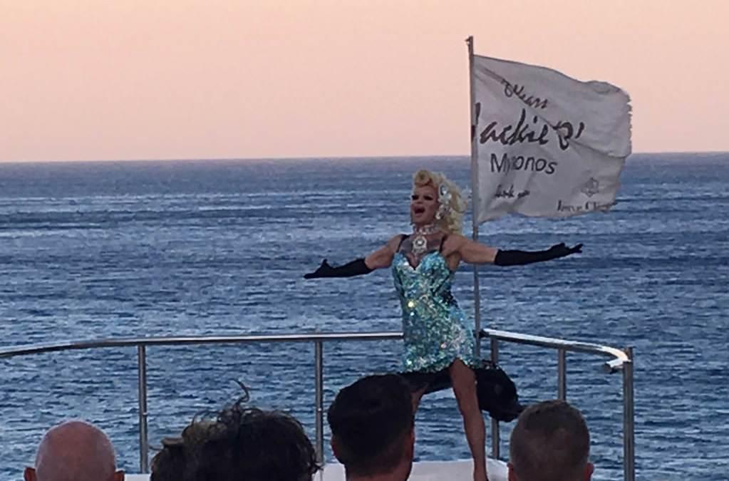 Jackie O' Beach Club & Restaurant: the best entertainment in Mykonos